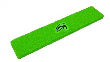 Eye Head Band Neon Green with Black Logo